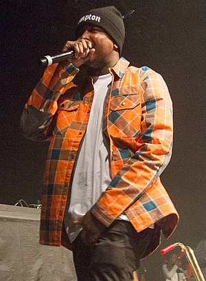 YG (rapper) - YG performing in 2015