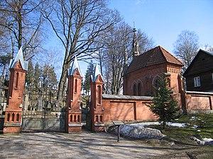 Rasos Cemetery - Entrance to the cemetery.