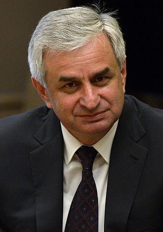 Abkhazian presidential election, 2011 - Image: Raul Khajimba 2015