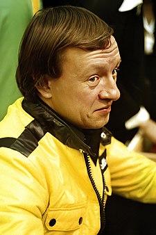 Rauno Aaltonen rally driver, winner of the 1965 European Rally Championship