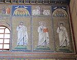 Ravenna, sant'apollinare nuovo, int., santi e profeti, epoca di teodorico 11.JPG