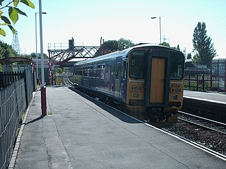 Ravensthorpe railway station - Image: Ravensthorpe station p 2