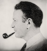 Raymond Chandler (Lady in the Lake portrait, 1943).jpg