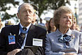 Raymond G Davis and wife 2000.JPEG