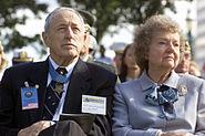 Raymond G Davis and wife 2000
