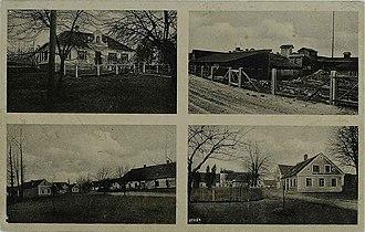 Ložnica pri Žalcu - 1934 postcard of Ložnica pri Žalcu