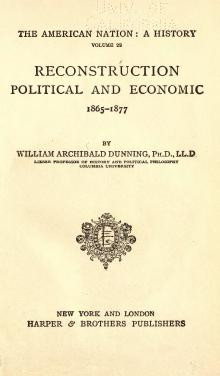 Reconstruction, Political and Economic.djvu
