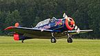 Red Bull Noorduyn AT-16 Harvard IIB D-FHGK OTT 2013 09.jpg