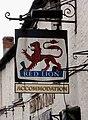 Red Lion Inn sign, 74 High Street - geograph.org.uk - 1371594.jpg