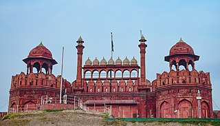 Red Fort historic fortress in Delhi, India