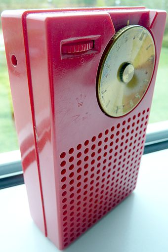 The Regency TR-1, which used Texas Instruments' NPN transistors, was the world's first commercially produced transistor radio. Regency TR-1.jpg