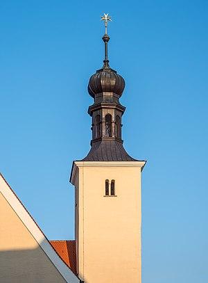 Tower of the church St. Leonhard (Regensburg)
