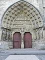 Reims (51) Cathédrale N.D. Façade nord 04.JPG