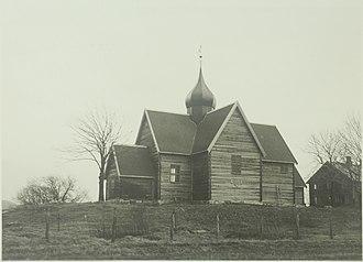 Rein Church - Image: Rein kirke UBT TO 082837 01 1