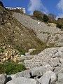 Reinforced cliff in Durlston Bay - geograph.org.uk - 1556730.jpg