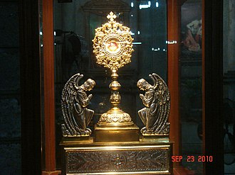 Morong Church - 1st class relic of St. Jerome
