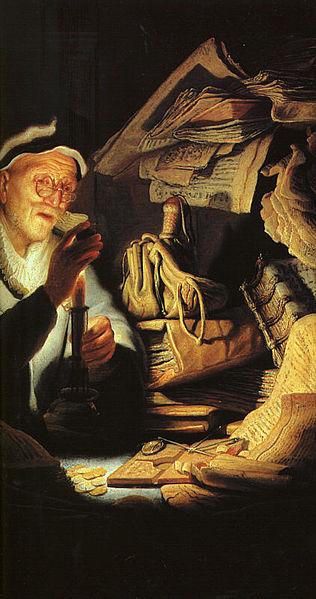 Fájl: Rembrandt - Példabeszéd a gazdag emberről (részlet) - WGA19248.jpg