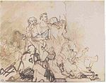 Rembrandt Study for the Group of the Sick.jpg