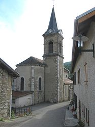 The church of Rencurel