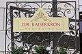 Restaurant Zur Kaiserkron im Palais Pock am Musterplatz in Bozen Südtirol.JPG