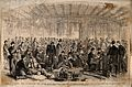 Return of wounded Confederate prisoners, under a flag of tru Wellcome V0015313.jpg