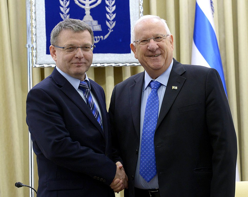 Reuven Rivlin and Lubomír Zaorálek