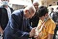 Reuven Rivlin visiting the Druze community in Israel, April 2021 (KBG GPO107).jpg