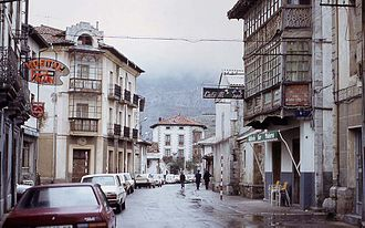 Riaño, León - Old Riaño, before it was flooded, November 1984.