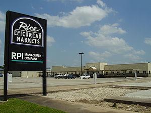 Southwest Houston - Headquarters of Rice Epicurean Markets