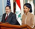 Rice and Zebari speak to the press.jpg