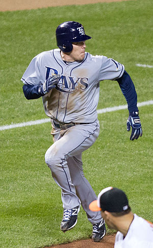 Rich Thompson (outfielder) - Thompson with the Tampa Bay Rays