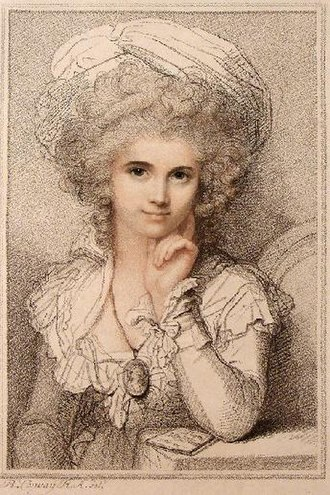 Maria Cosway - Maria Cosway by her husband, Richard Cosway.