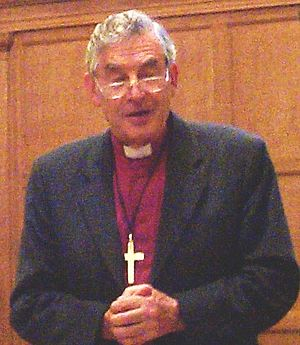Richard Harries, Baron Harries of Pentregarth - Speaking at the Friends meeting house, Oxford, in 2004