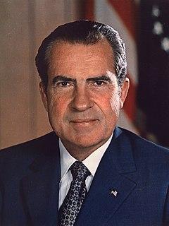 Richard Nixon 37th president of the United States