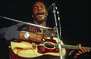 Richie Havens - Havens performing in Hamburg, Germany, May 1972