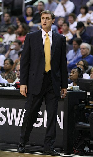 English: Rick Carlisle with the Dallas Mavericks