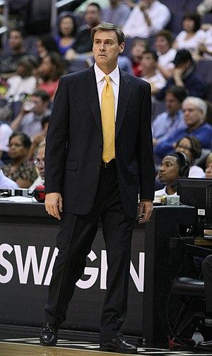 English: Rick Carlisle with the Dallas Mavericks