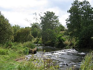 River Luggie at Waterside, near Kirkintilloch - geograph.org.uk - 54792.jpg