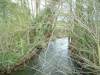 River Riccal - Image: River Riccal geograph.org.uk 261033
