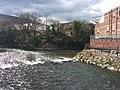 River Taff at park caffa Pontypridd.jpg