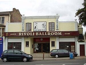 Rivoli Ballroom - Image: Rivoli Ballroom, Brockley, SE4