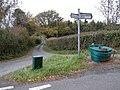 Road junction between Longtown and Ewyas Harold - geograph.org.uk - 276914.jpg