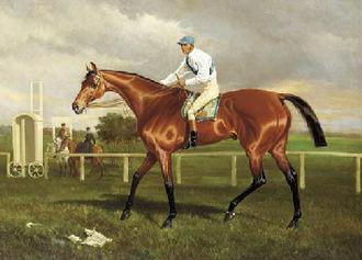 Robert the Devil (horse) - Robert the Devil by Alfred F. de Prades