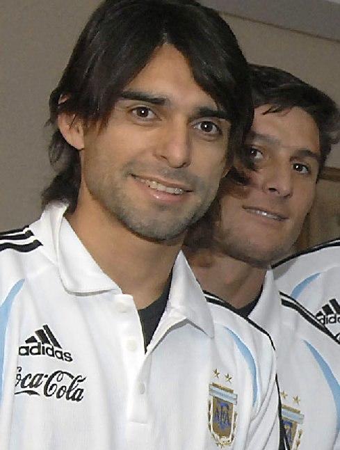 Roberto Ayala y Javier Zanetti - 07FEB2007 - Francia - presidencia-govar