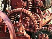 Rock crusher gears