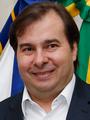 Rodrigo Maia como Presidente em exercício do Brasil (cropped).png