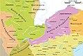 Roemische Provinzen Alpenraum ca 14 n Chr.jpg