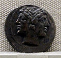 Roma, repubblica, dracma quadrigata in argento, post 269 ac 01.JPG