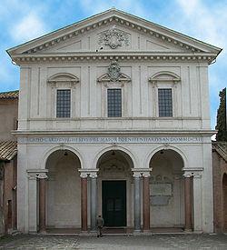 Fassade von San Sebastiano