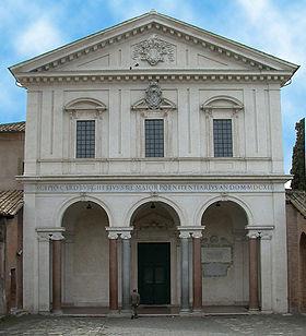 Rome Chrétienne et ses monuments - EUGENE DE LA GOURNERIE - 1867 280px-RomaSanSebastiano